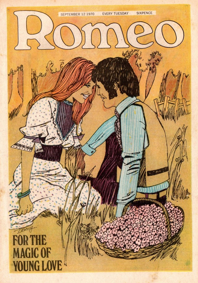 Romeo - cover dated 12th September 1970