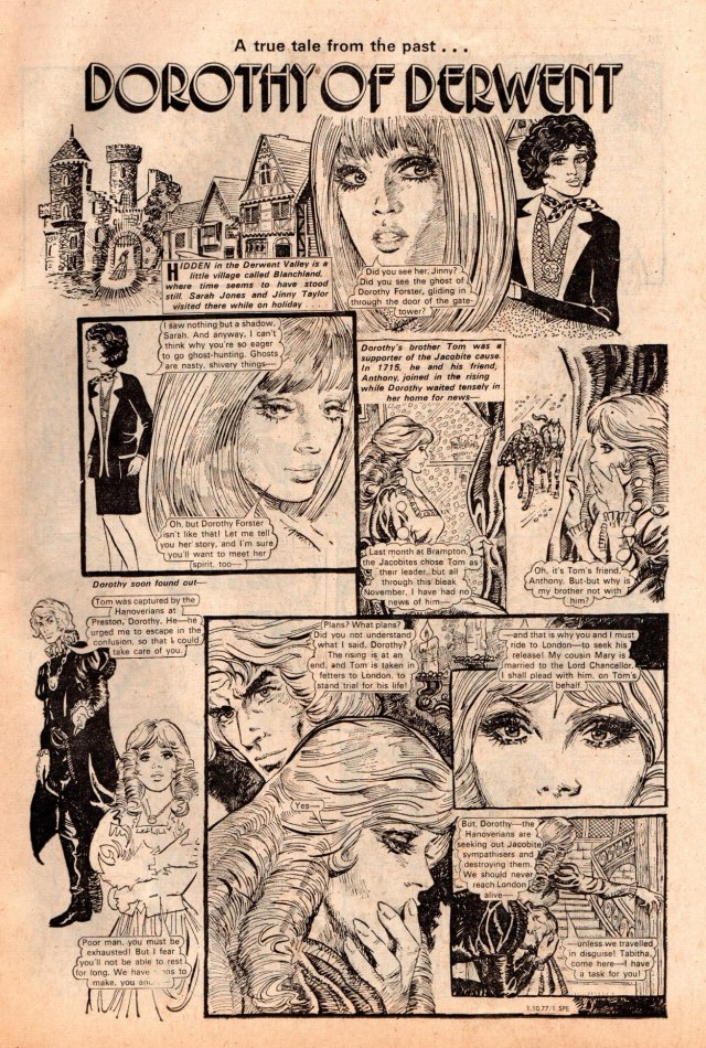 Spellbound Issues 54 - Dorothy of Derwent - who is the artist?
