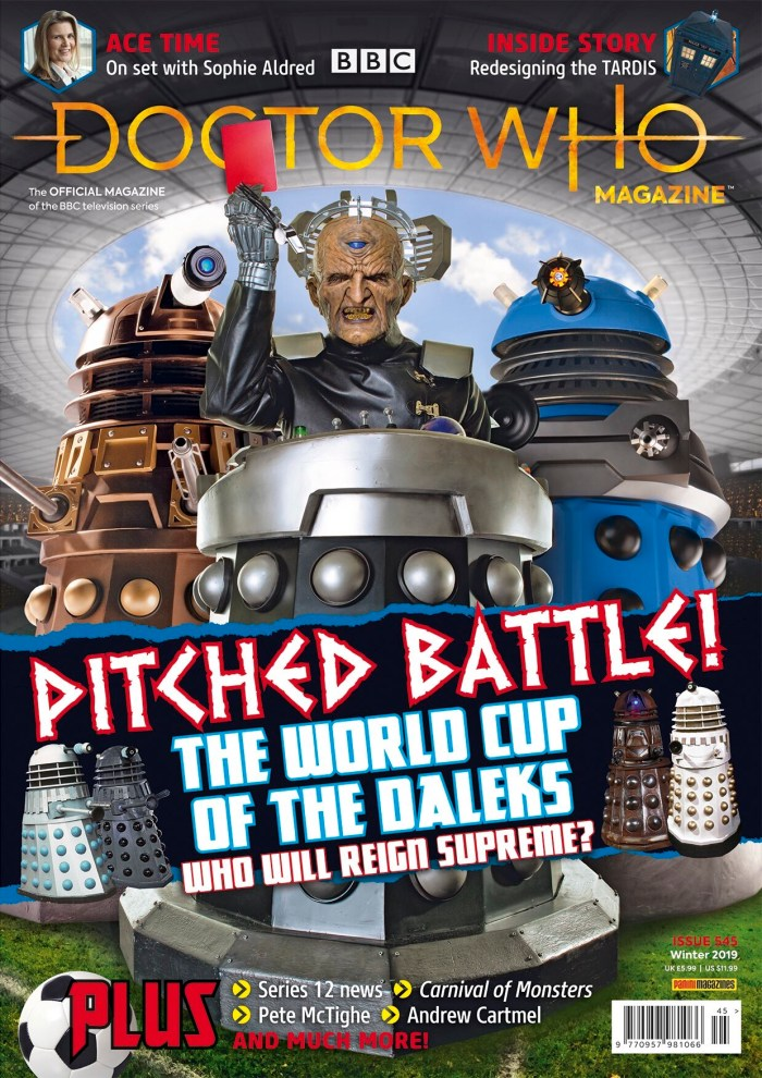 Doctor Who Magazine 545