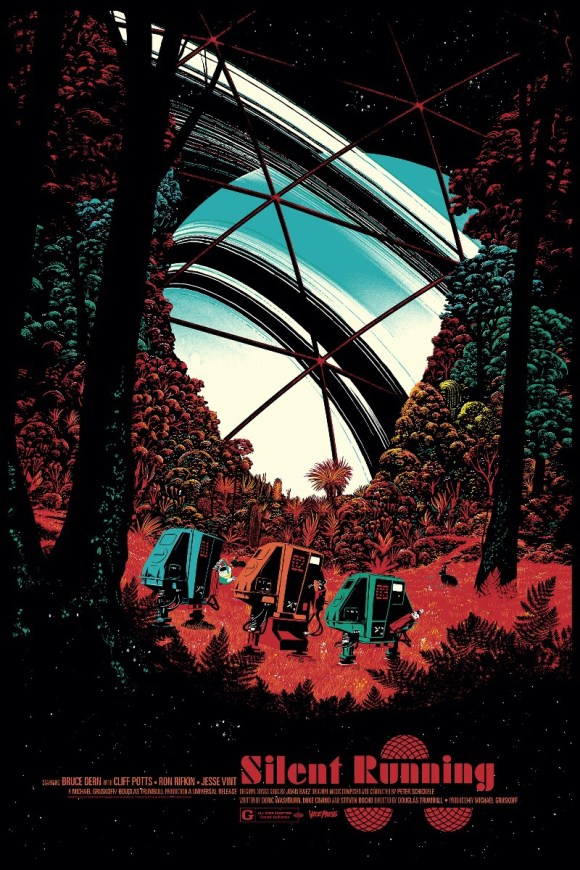 Vice Press Poster - Silent Running by Raid71