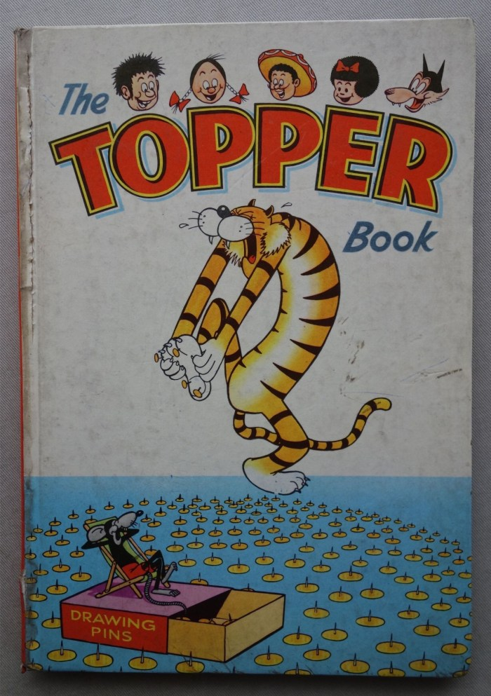 Topper Comic Book 1963