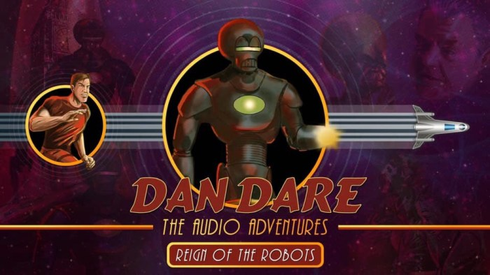 Dan Dare Audio Adventures Promotional Image