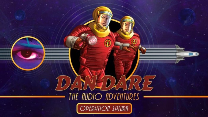 Dan Dare Audio Adventures - Operation Saturn Promotional Image