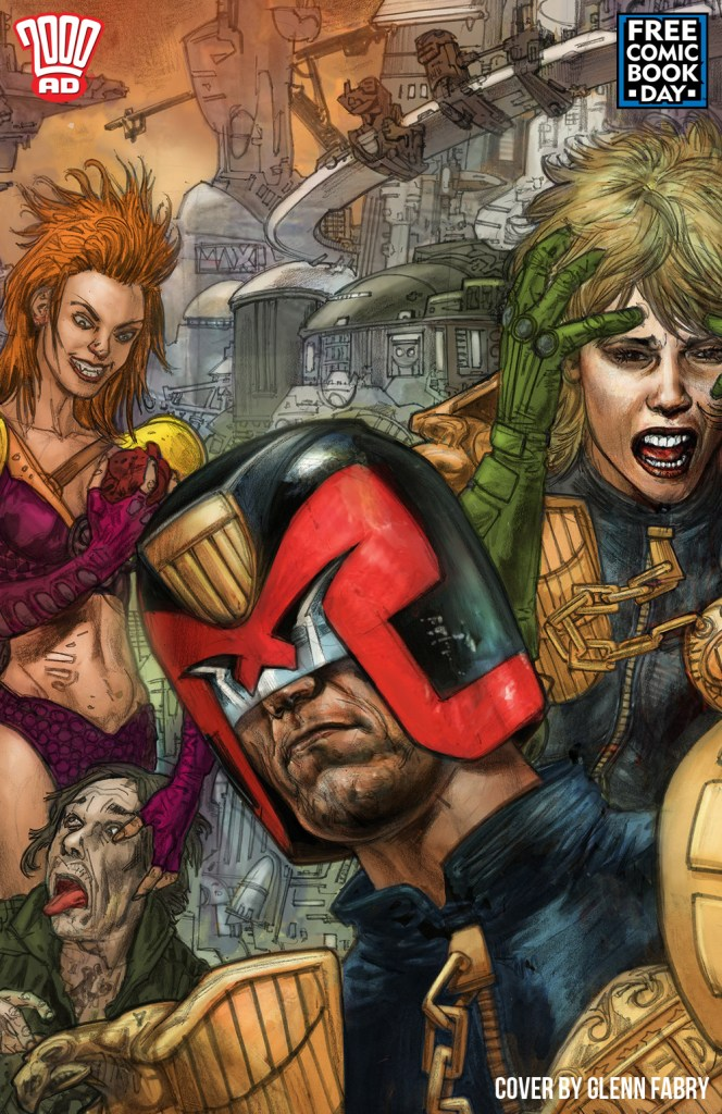 Best of 2000 AD #0 - 2020