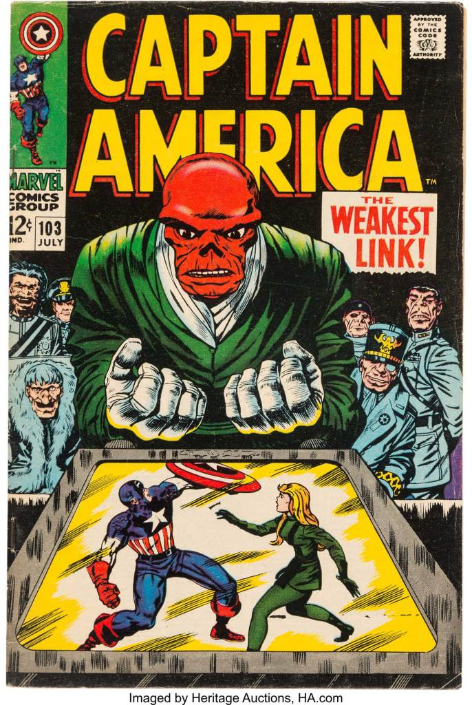 Cpatain America #3 - Published Cover