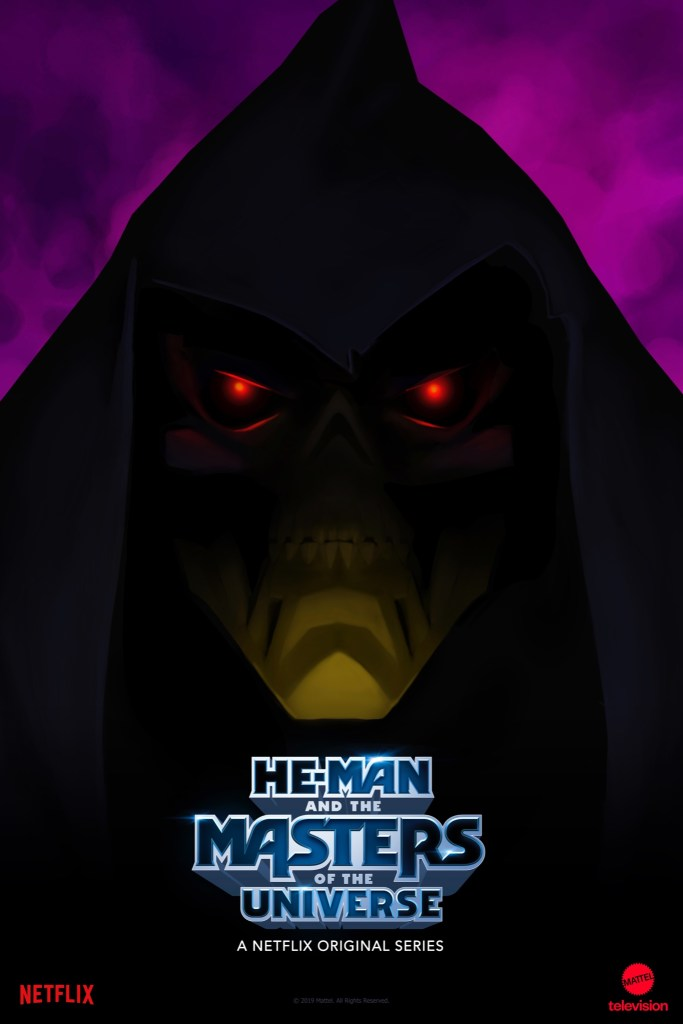 A teaser poster for the new He-Man and the Masters of the Universe series