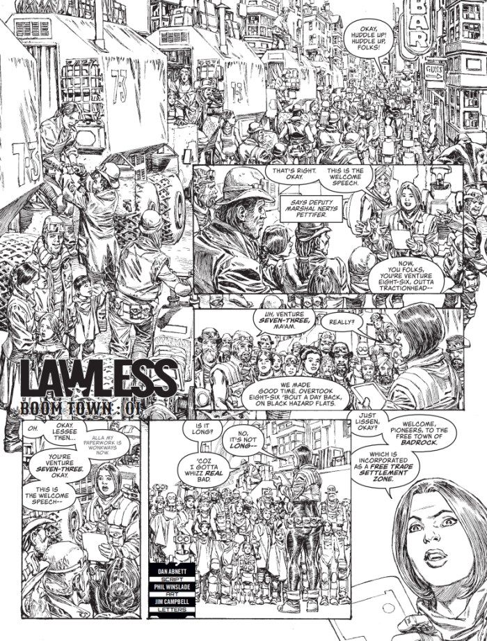 Judge Dredd Megazine Issue 415 - Lawless