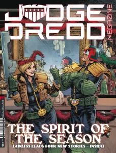 udge Dredd Megazine 415