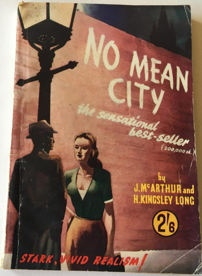 No Mean City - Paperback Cover - with thanks to David Roach
