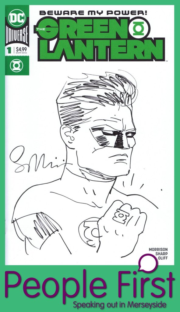 People First Merseyside Comic Art Charity Auction 2019 - Sean Phillips