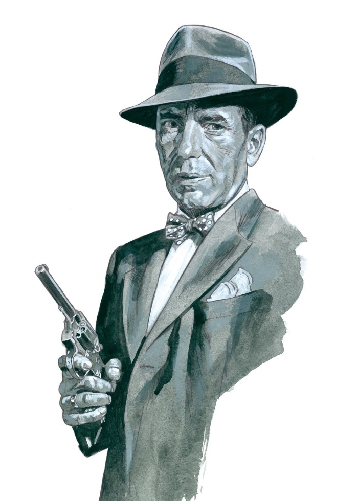 Humphry Bogart by Sean Phillips