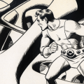 Detail from a 'Dynamo' page by Wallace Wood