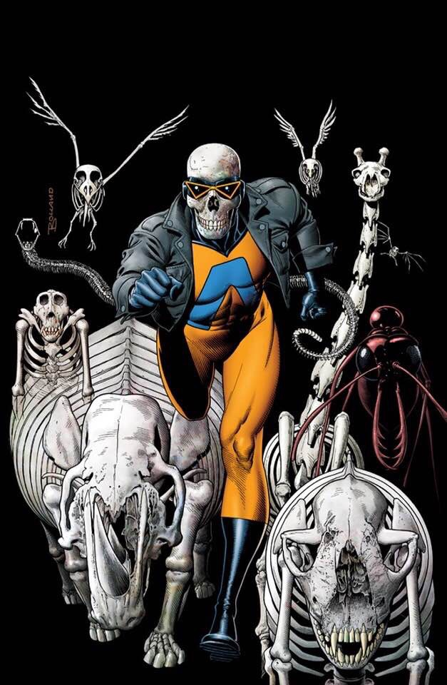 Animal Man Cover by Brian Bolland