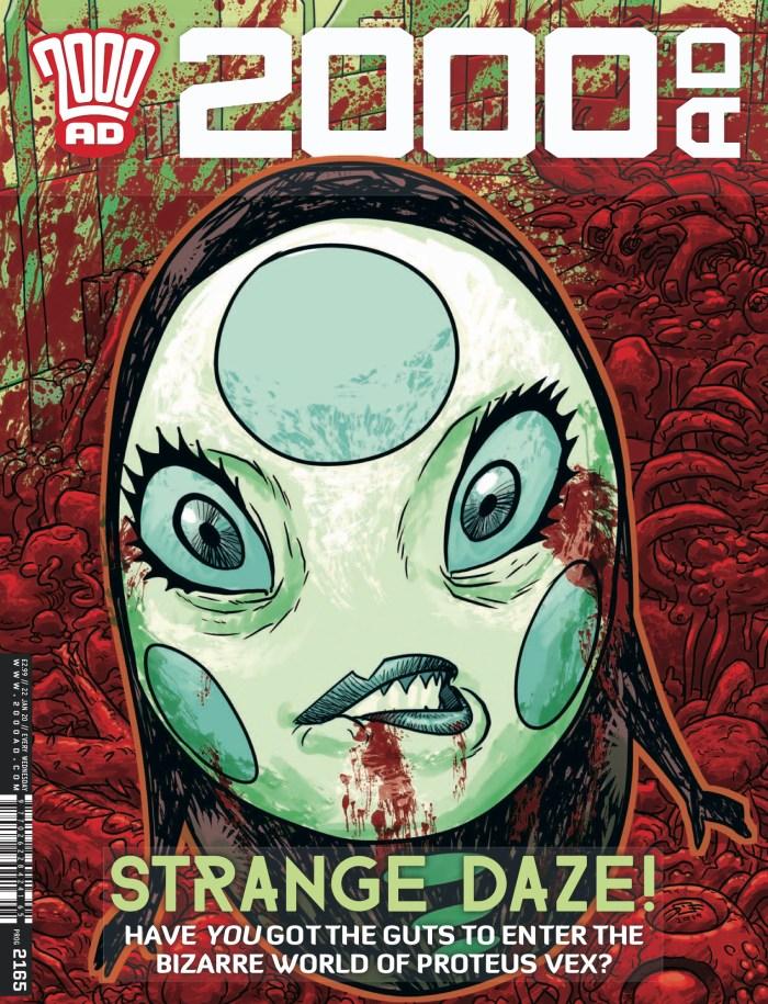 2000AD Prog 2165 - Cover