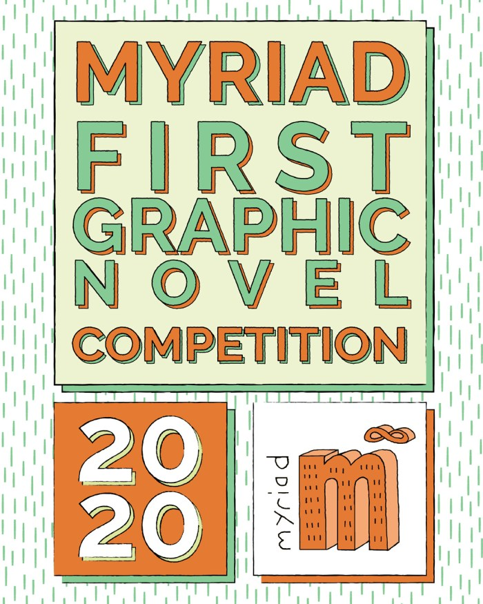 Myriad First Graphic Novel Competition 2020