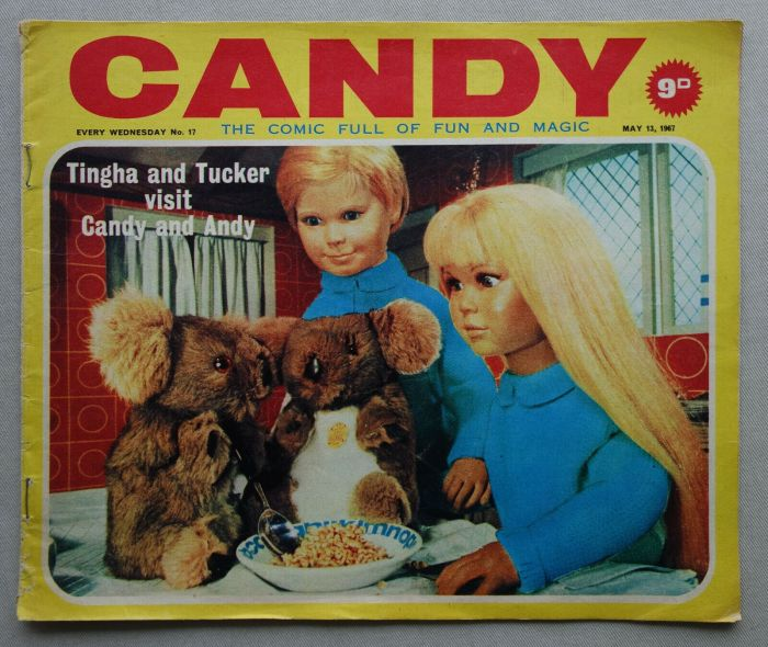 Candy Issue 17, cover dated 13th May 1967