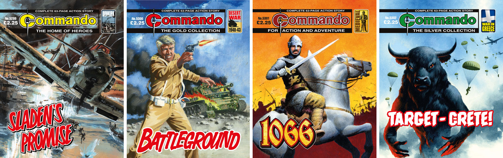 1066 and All That! Plus, is a Minotaur stalking Commando?