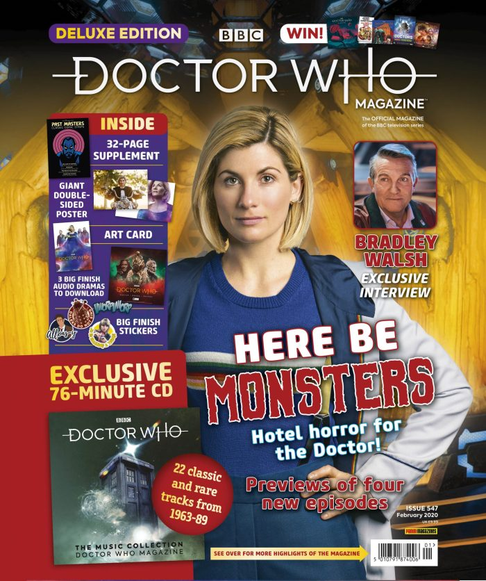 Doctor Who Magazine Issue 547 - Deluxe Edition