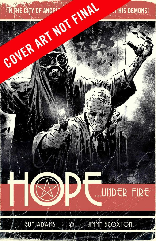 Hope ... Under Fire - Not Final Cover