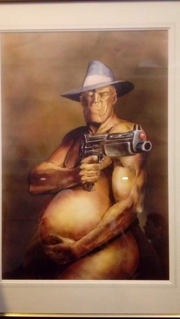Lawless 2019 - Carlos Ezquerra Art Exhibition - Al's Baby