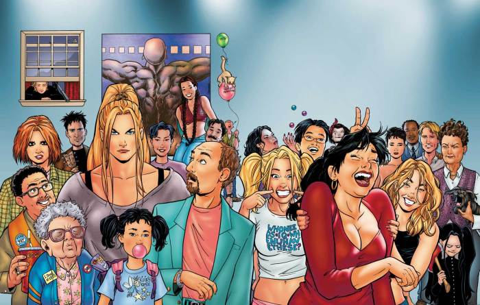 Strangers in Paradise Cast by Terry Moore