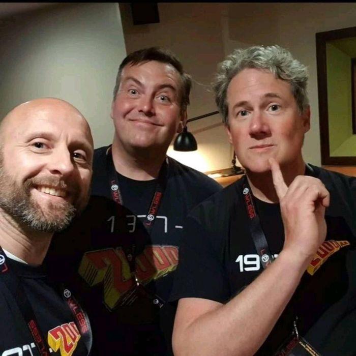 The77's Steve Bull, Dave Heeley and BenKsy