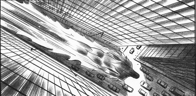 Storyboard for Fantastic Four by Trevor Goring