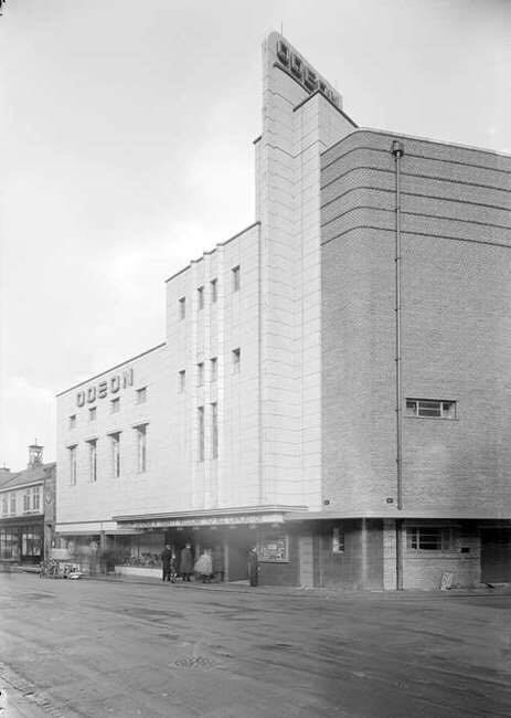 Odeon Cinema, Lancaster, in its heyday