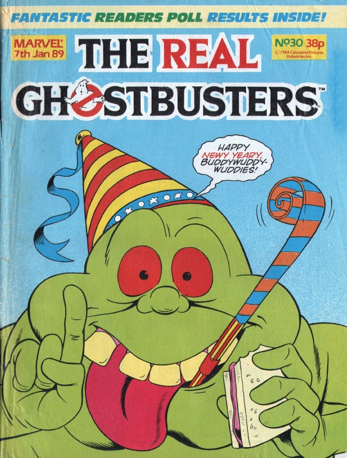 The Real Ghostbusters #30. Cover by Brian Williamson and Dave Harwood