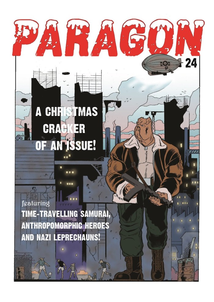 Paragon Issue 24 - Cover