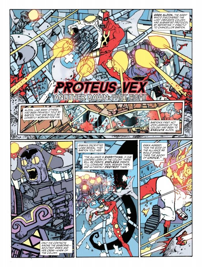 2000AD Prog 2169 - Proteux Vex