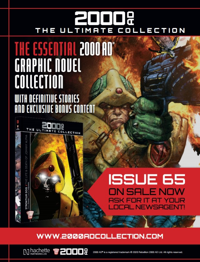 2000AD Ultimate Collection 65