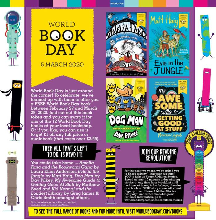 Beano 4024 - World Book Day Feature