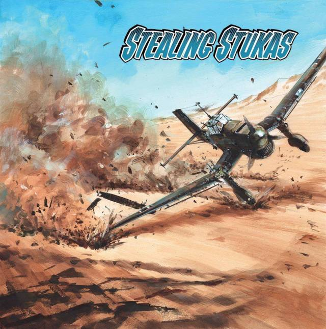Commando 5307 - Home of Heroes: Stealing Stukas - Full Cover