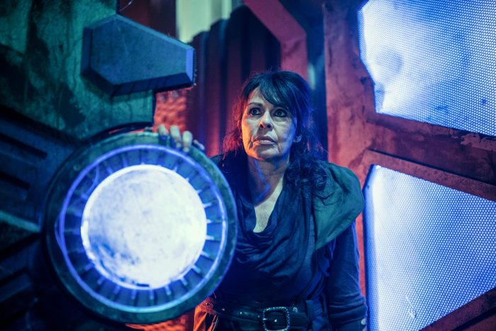 Ravio (Julie Graham) in Ascension of the Cybermen. Image: BBC