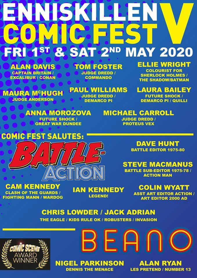 Enniskillen Comic Fest V 2020