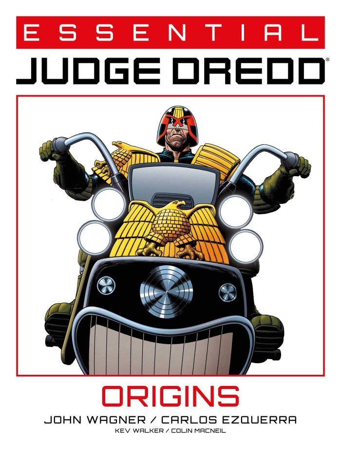 Essential Judge Dredd: Origins