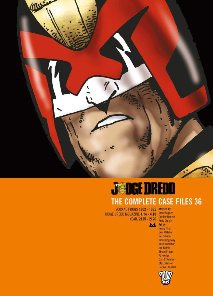 Judge Dredd: The Complete Case Files 36