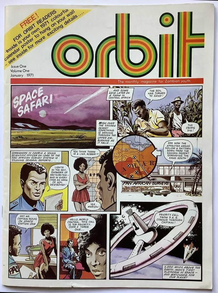 Orbit Magazine Issue One Volume One - 1971