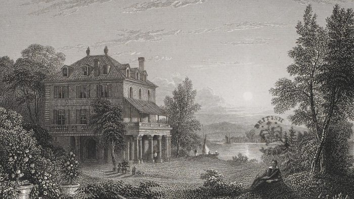 """The Villa Diodati, also then known as Hotel d'Angleterre, where Percy Shelley, Mary Wollstonecraft Godwin, Lord Byron and John Polidori decided to write ghost stories in the summer of 1816. This led to the publishing of """"Frankenstein"""" in 1818"""