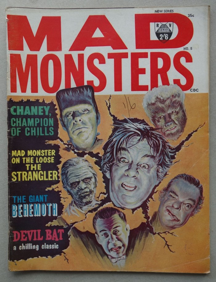 Mad Monsters magazine 8 - Summer 1964