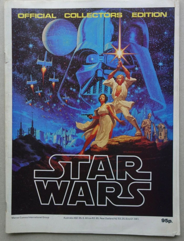 British Star Wars Official Collectors Edition Magazine 1977