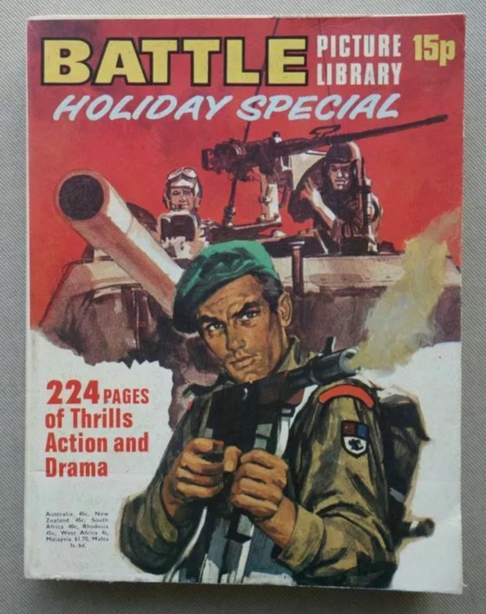 Battle Picture Library Holiday Special comic 1972