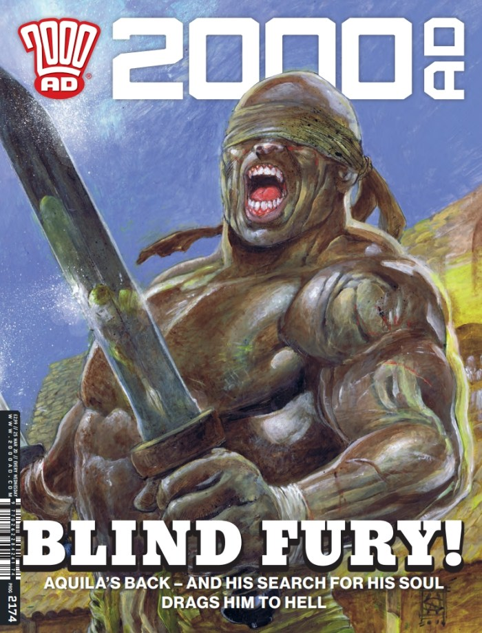 2000AD 2174 Cover