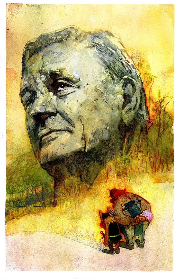 Artist Bill Sienkiewicz tribute to Albert Uderzo himself