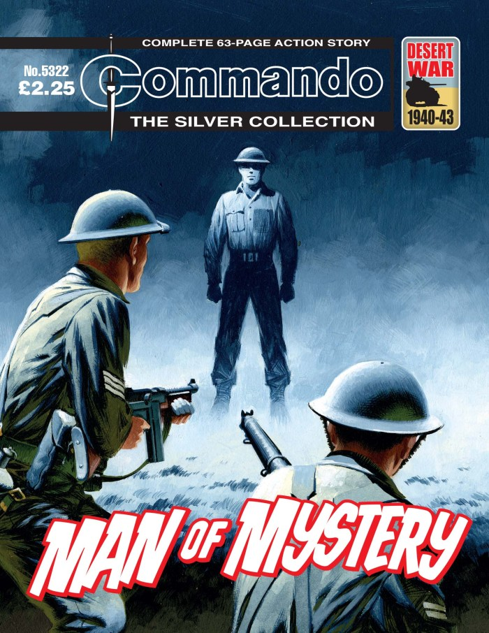 Commando 5322: Silver Collection: Man of Mystery