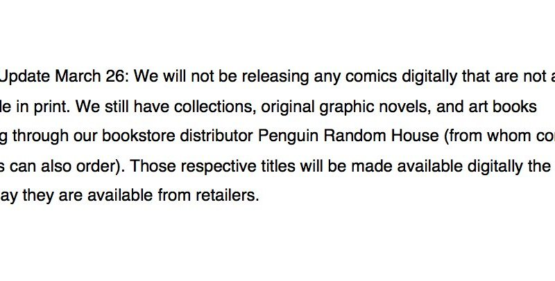 Dark Horse Comics continues commitment to supporting comic retailers