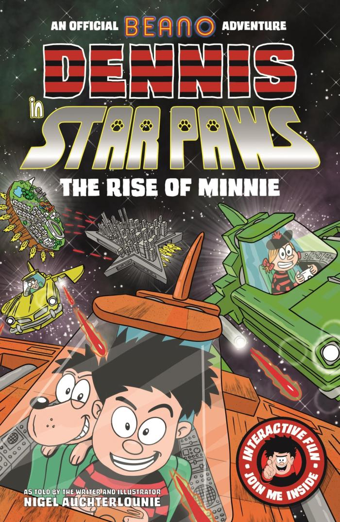 Dennis in Star Paws: The Rise of Minnie