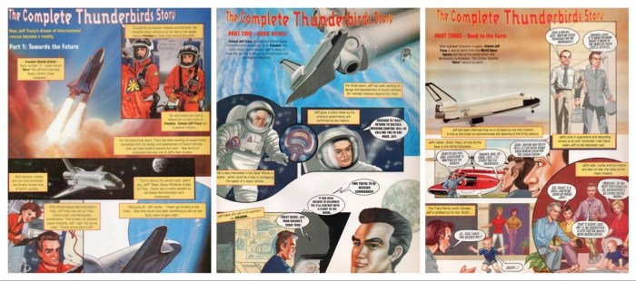 Thunderbirds - The Comic - The Complete Thunderbirds Story Montage