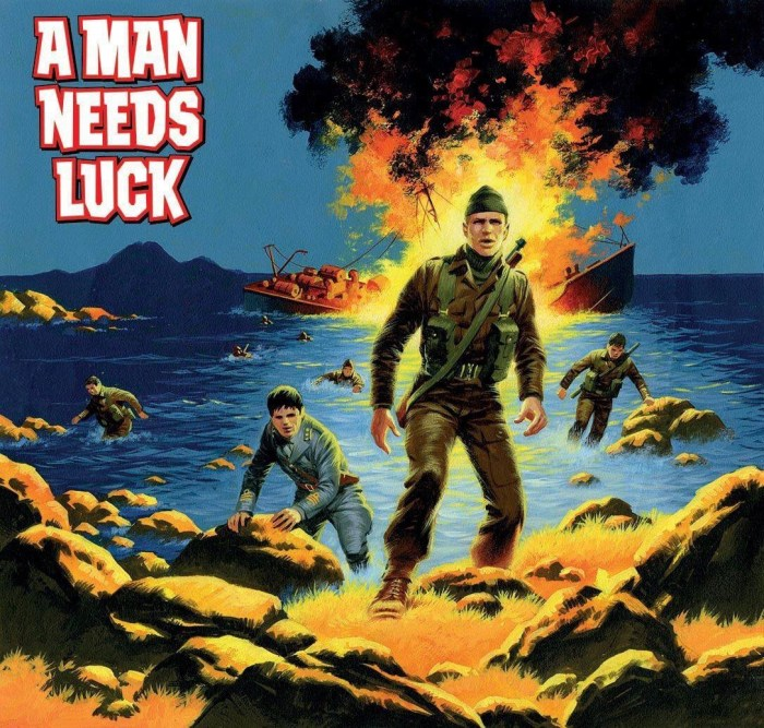 Commando 5314: Silver Collection - A Man Needs Luck - Full Art